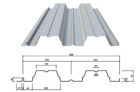 galvanized floor deck