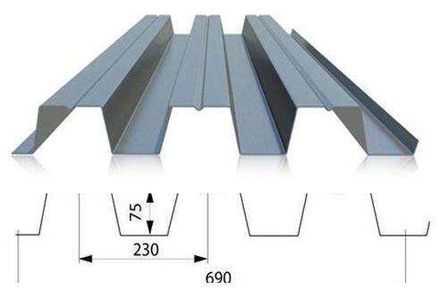 steel floor board