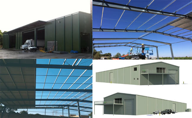 steel structure buildings in australia